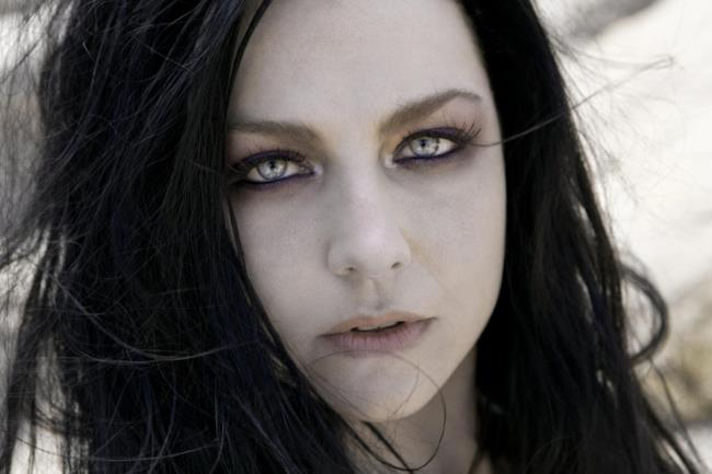 Amy Lee in primo piano