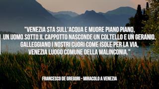 Francesco De Gregori: le migliori frasi dei testi delle canzoni