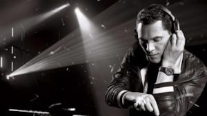 Il DJ Tiësto live al Tomorrowland