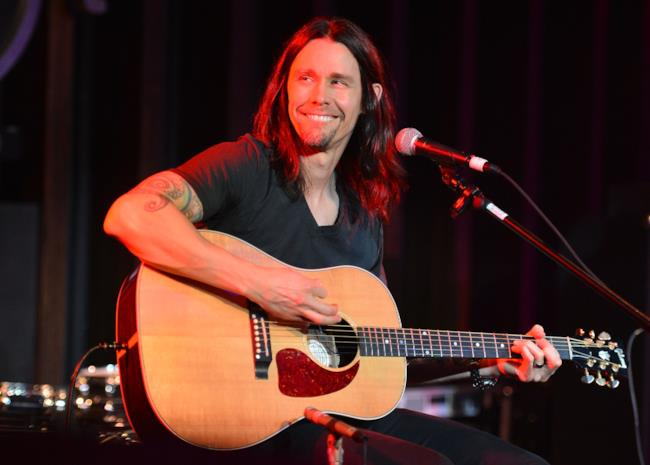 Il cantante Myles Kennedy