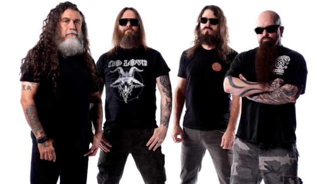 La metal band degli Slayer