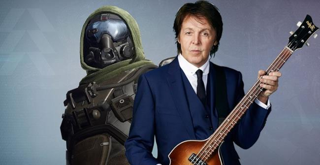 Paul McCartney videogame Destiny