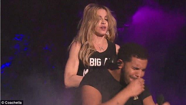 Drake e Madonna dopo il bacio al Coachella