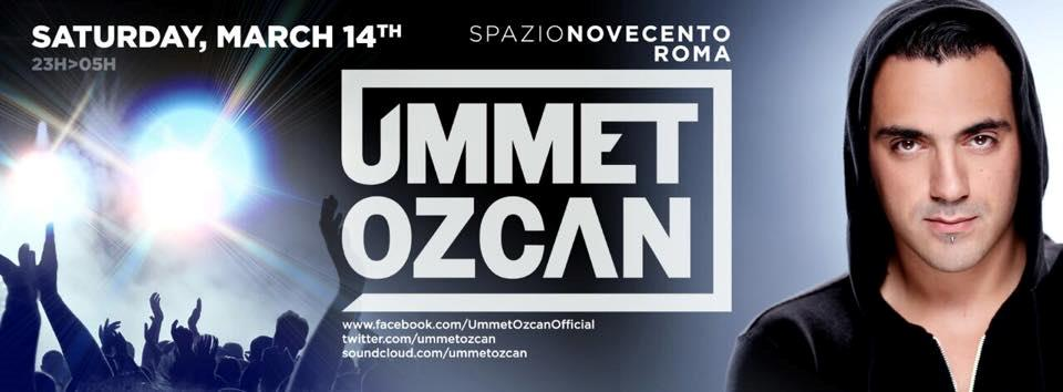 Allo Spazio 900, sabato 14 marzo, arriva Ummet Ozcan