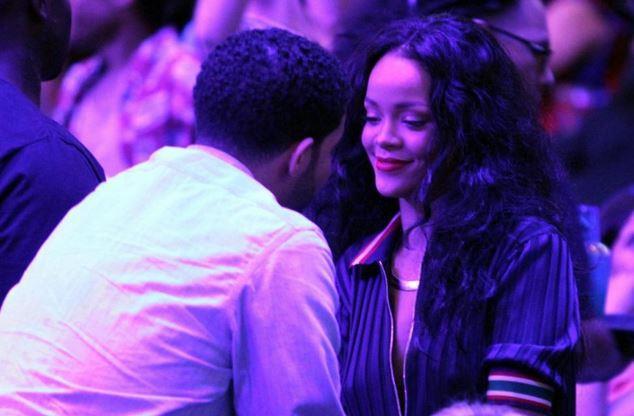 Rihanna con Drake