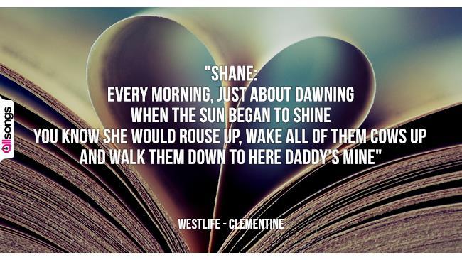 Westlife: le migliori frasi dei testi delle canzoni