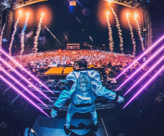 Don Diablo on fire