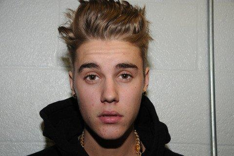 Primo piano di Justin Bieber