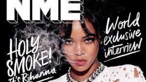 Rihanna sulla copertina di NME 2015