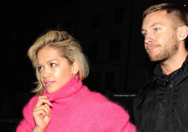 Rita Ora e Calvin Harris