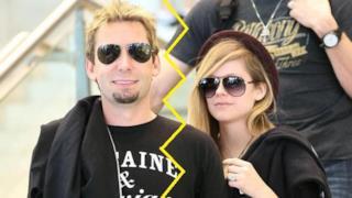 Avril Lavigne e Chad Kroeger insieme