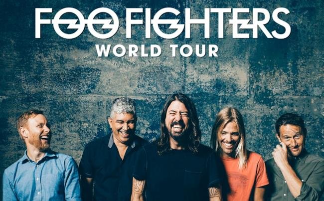 Locandina Foo Fighters World Tour