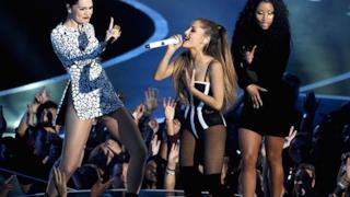 Jessie J, Nicki Minaj e Ariana Grande sul palco degli MTV VMA 2014