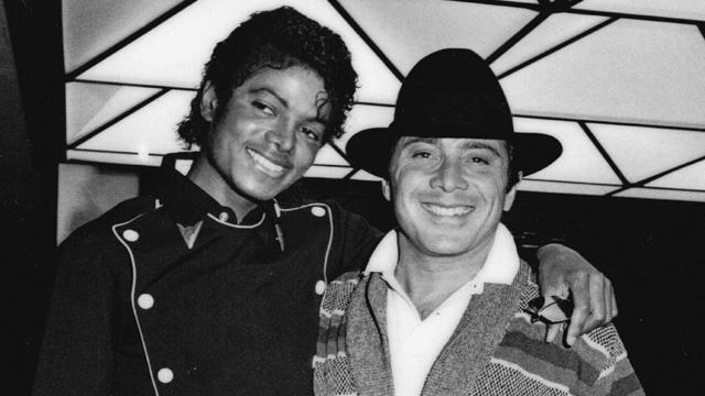 Michael Jackson con Paul Anka negli anni 80