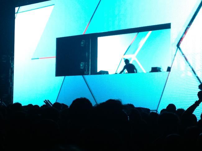 Benny Benassi alla serata alla Hall 36 di Bologna Fiere 2013