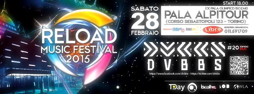 I DVBBS sarà gli ospiti d'eccezione del  Reload Music festival