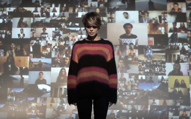 Alessandra Amoroso nel video ufficiale di Stupendo fino a qui