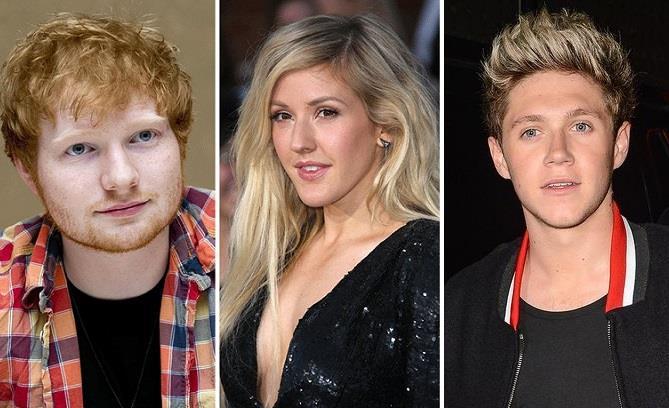 Ellie Goulding ha tradito Ed Sheeran con Niall Horan
