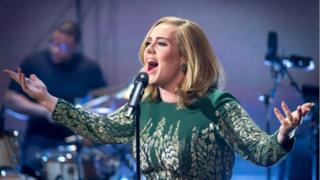 On Stage BBC - Adele