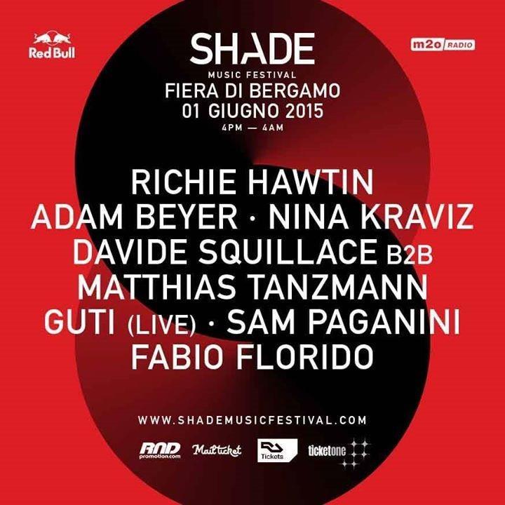 Shade Music festival con Richie Hawtin