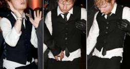 Ed Sheeran completamente ubriaco agli after party dei Brit Awards 2015