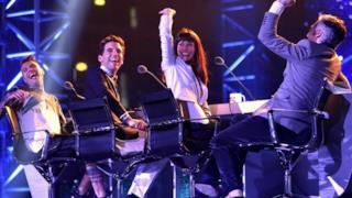 I 4 giudici di X Factor 8 Fedez, Mika, Victoria Cabello e Morgan