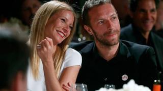 Chris Martin con Gwyneth Paltrow