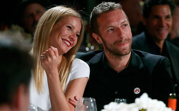 Chris Martin con Gwyneth Paltrow
