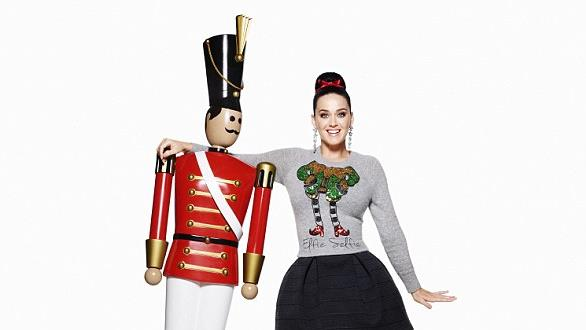 Katy Perry con H&M, ecco Holyday 2015