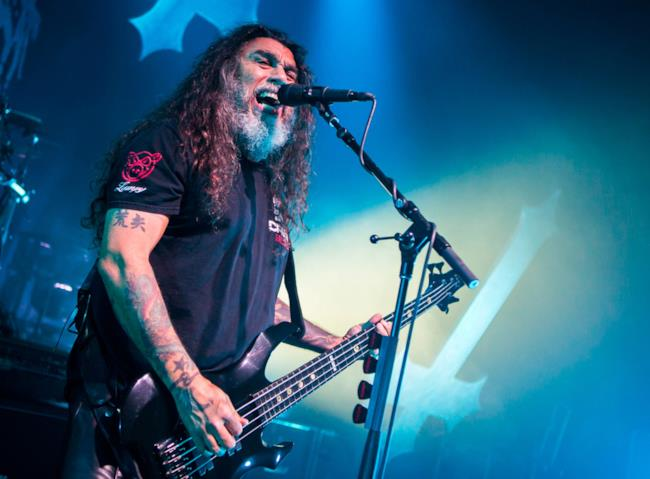 Tom Araya degli Slayer