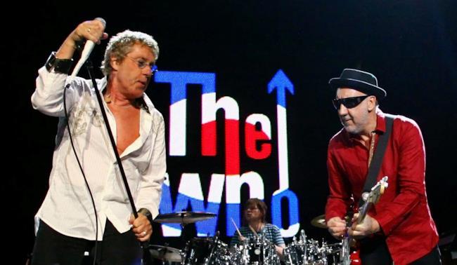 Pete Townshend e Roger Daltrey membri The Who