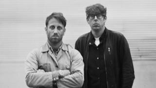 Dan Auerbach e Patrick Carney dei Black Keys