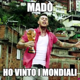 madò ho vinto i mondiali