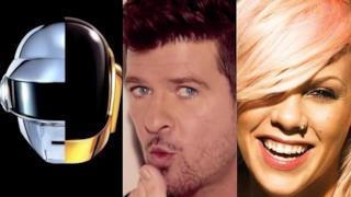 Classifica canzoni 4 maggio 2013: dominano Daft Punk e Robin Thicke