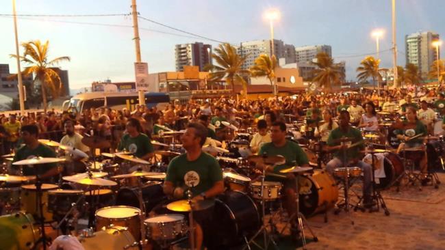 I partecipanti al Bateras 100% Brasil
