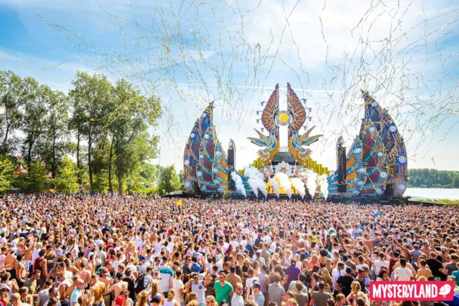 Il mainstage del Mysteryland 2016