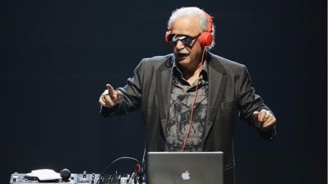 Il produttore e DJ, Giorgio Moroder