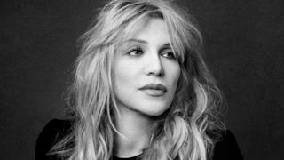 Primo piano di Courtney Love