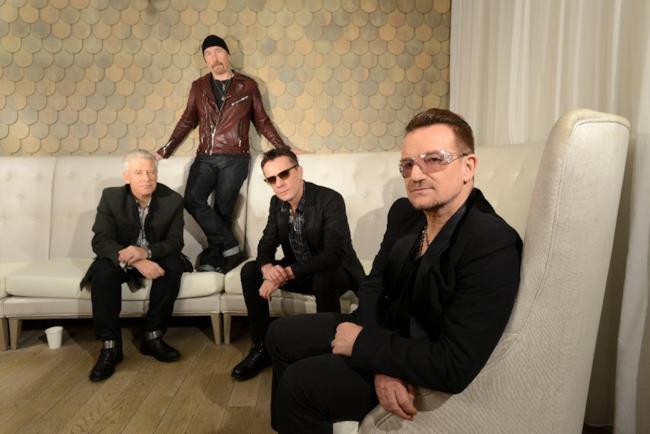 U2 come sono nel 2014
