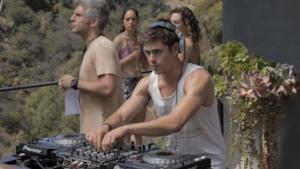 Zac Efron al mixer per We Are Your Friends