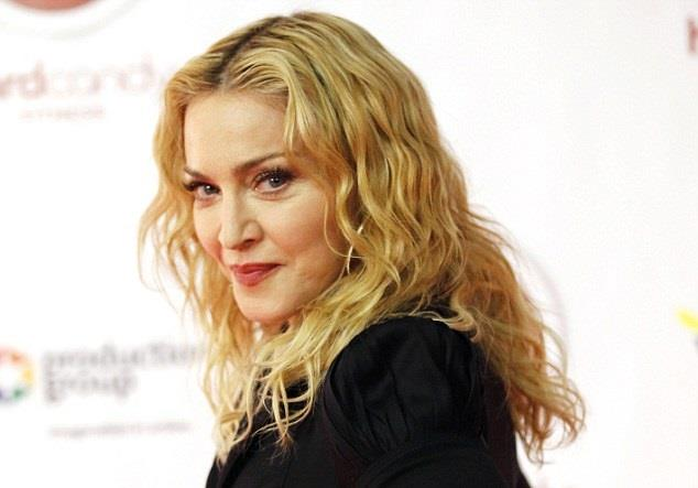 La popstar statunitense Madonna a 56 anni