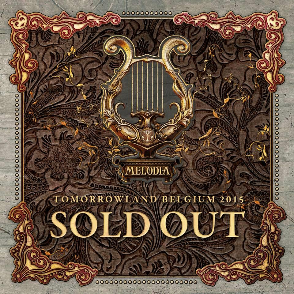 Sold Out Tomorrowland 2015