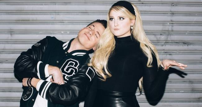 Charlie Puth e Meghan Trainor in una foto insieme