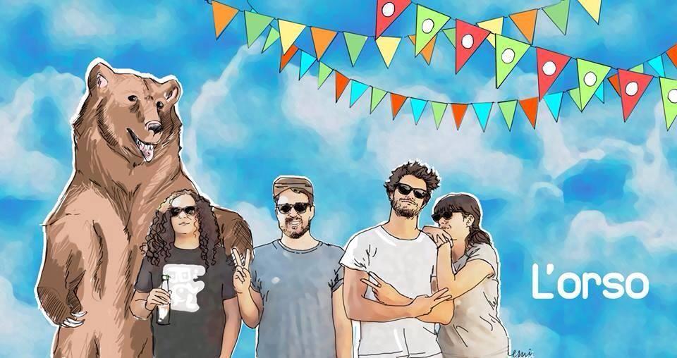 Un artwork dedicato a L'Orso, pubblicato sulla loro pagina facebook da una fan