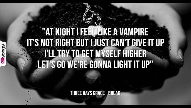 Three Days Grace: le migliori frasi dei testi delle canzoni
