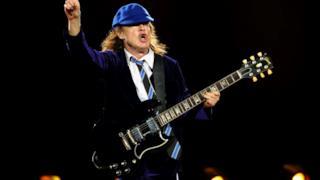 Angus Young, chitarrista degli AC/DC