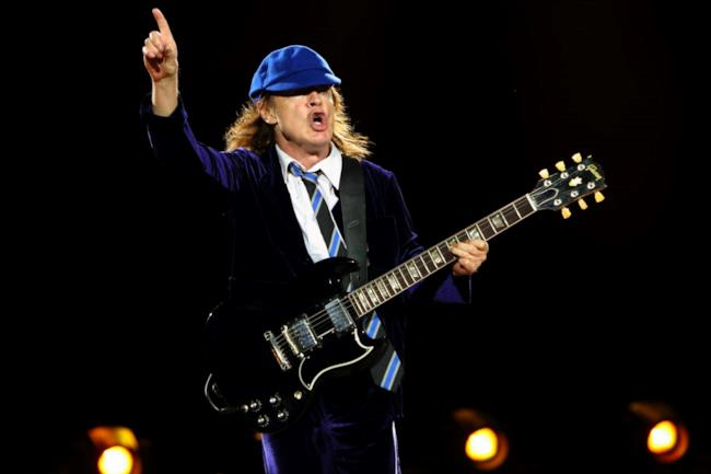 Angus Young, chitarrista degli AC/DC