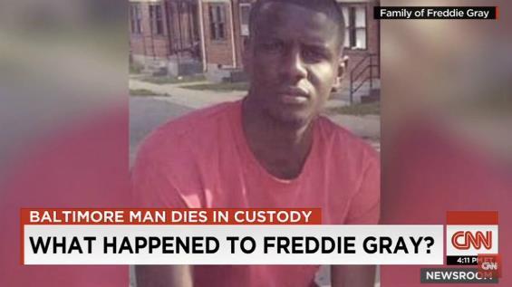 Freddie Gray è morto mentre era sotto custodia della polizia
