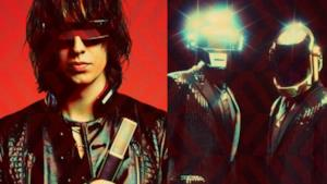 Julian Casablancas e il duo Daft Punk