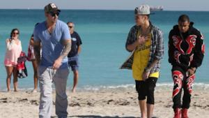 Justin Bieber prima in segway con il papà e poi in carcere per eccesso di velocità in Lamborghini